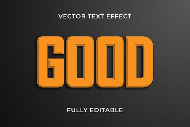 Goed teksteffect