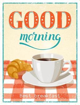 Goedemorgen poster