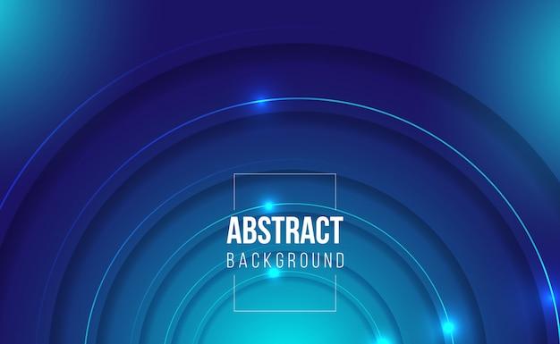 Gokken glanzende donkerblauwe abstracte gradiëntachtergrond Premium Vector