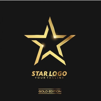 Gold star-logo