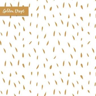 Golden drops patroon