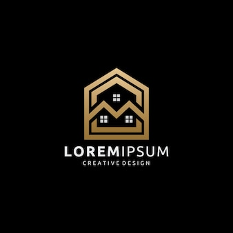 Golden house real estate-logo
