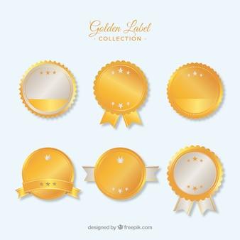 Golden lege labels