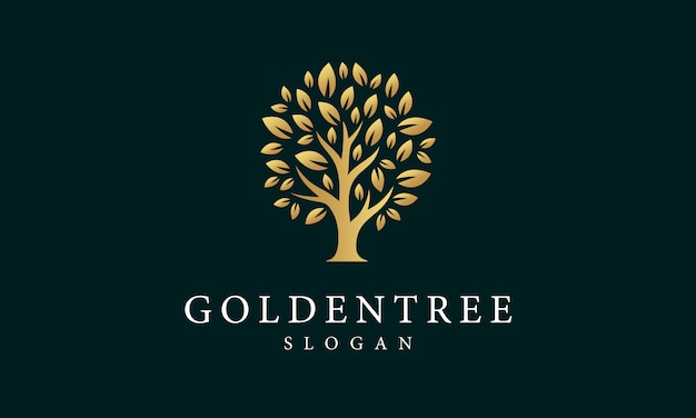 Golden tree-logo