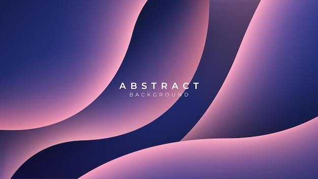 Golf kleur achtergrond vloeibare stroom verf 3d ontwerp illustratie geometrische dynamische golvende kleur inkt ar