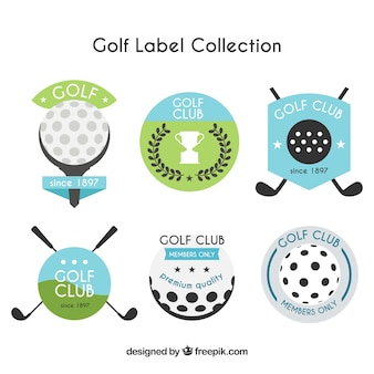 Golf label collectie