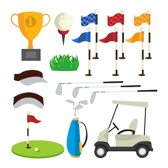 Golf pictogrammen