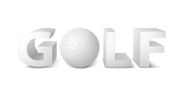Golf teken