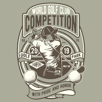Golf world competition