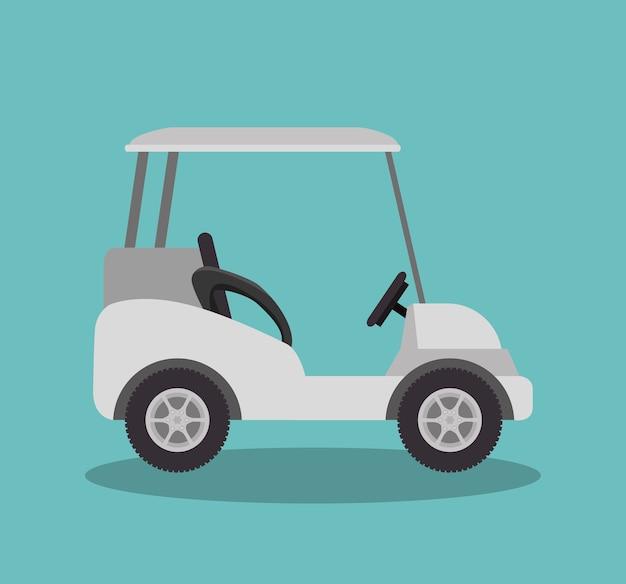 Golfclub sport pictogram vector illustratie ontwerp