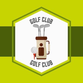 Golftas bal sport wedstrijdlabel