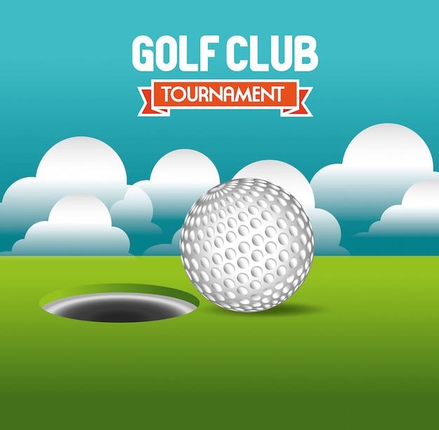 Golftoernooi ontwerp