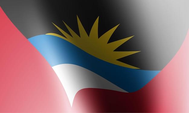 Golfvlaggen in afbeelding. vector illustratie