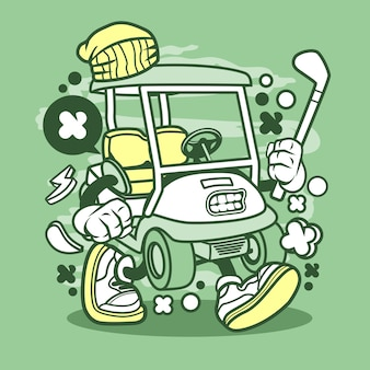Golfwagentje