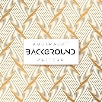 Golven abstrack geometrisch patroon