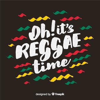 Golven reggae achtergrond