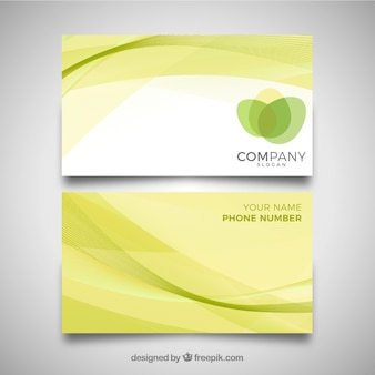 Golvend business card