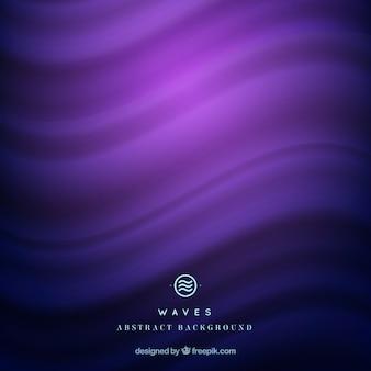 Golvende achtergrond in paarse tinten