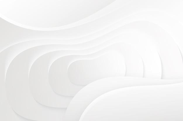 Golvende achtergrond in papierstijl