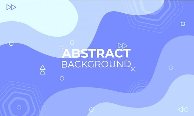 Golvende blauwe abstracte achtergrond