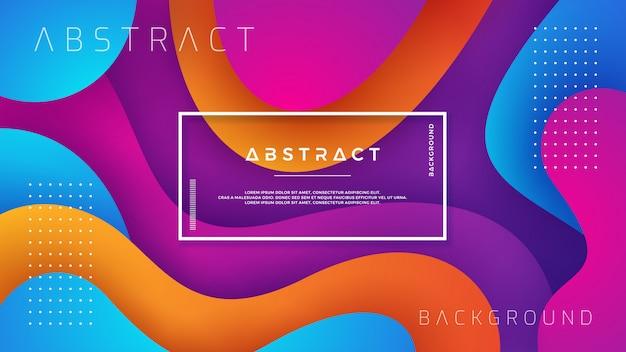 Golvende kleurrijke gestructureerde achtergrond.