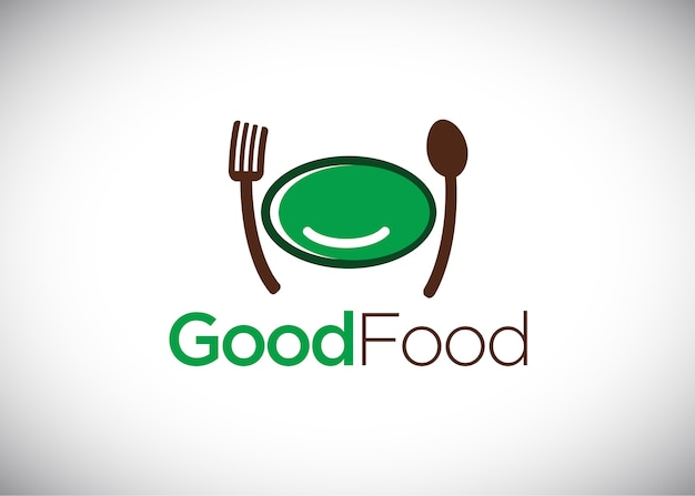 Good food logo ontwerpsjabloon