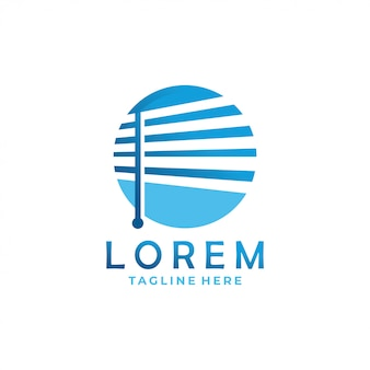 Gordijn logo pictogram