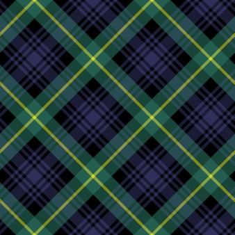 Gordon tartan stof textiel check patroon naadloze achtergrond