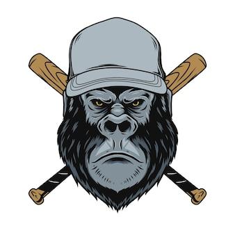 Gorilla honkbal logo