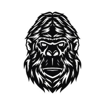 Gorilla hoofd