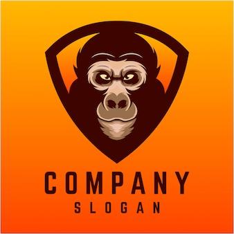 Gorilla logo ontwerp