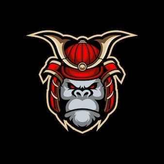 Gorilla samurai esport-logo