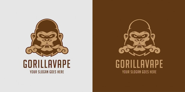 Gorilla vape vloeibare damp logo