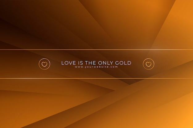 Goud luxe behang