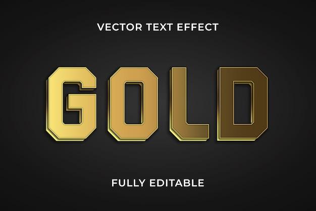Goud teksteffect