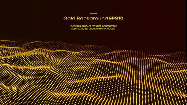Gouden abstracte achtergrond