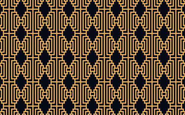 Gouden abstracte geometrische achtergrondillustratie