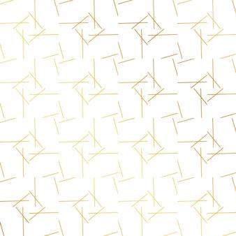 Gouden abstracte lijnen patroon achtergrond