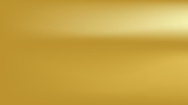 Gouden achtergrond met lege ruimte voor metalen grafisch ontwerpelement