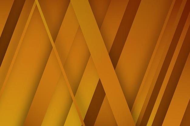 Gouden achtergrond met schuine lijnen