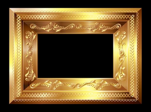 Gouden afbeeldingsframe