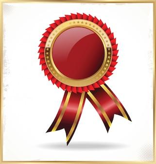 Gouden badge