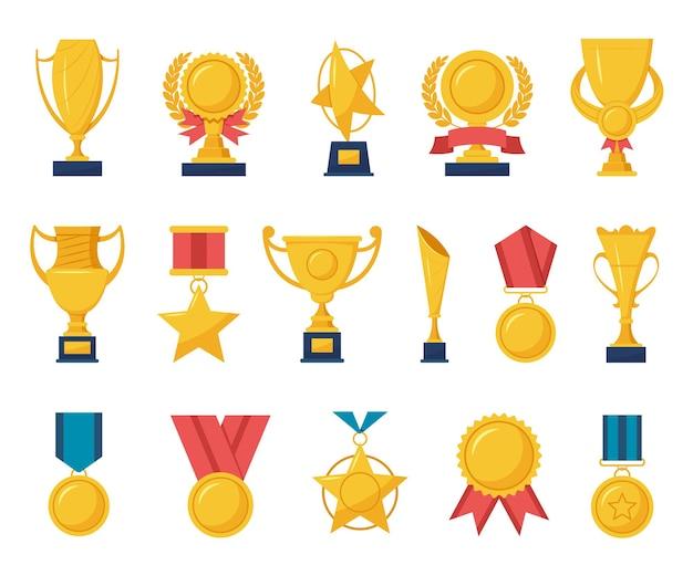 Gouden beloningsillustratie
