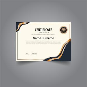 Gouden certificaat