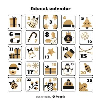 Gouden details adventskalender