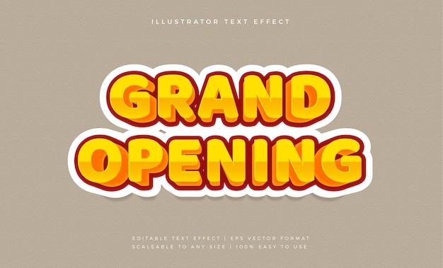 Gouden elegante komische tekststijl lettertype-effect