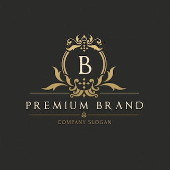 Gouden elegante logo template