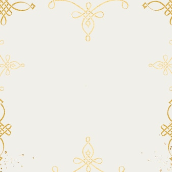 Gouden filigraan framerand