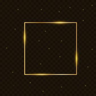 Gouden frame-element.