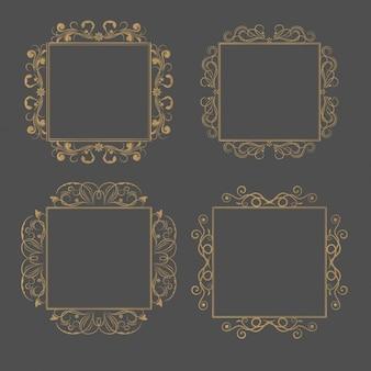 Gouden frames inzameling